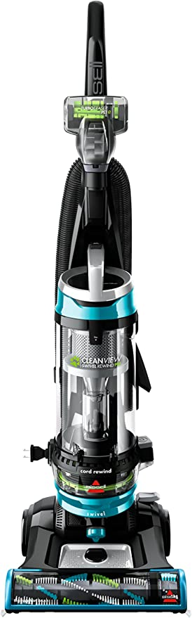Amazon.com - BISSELL Cleanview Swivel Rewind Pet Upright Bagless Vacuum Cleaner, Teal -