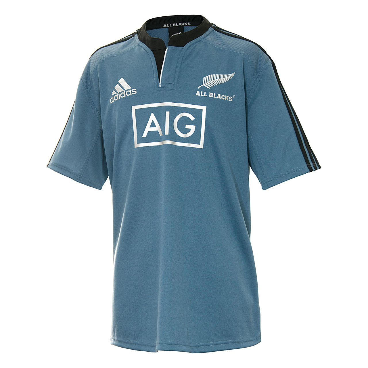 adidas New Zealand All Blacks 2014/15 S/S - Camiseta de Rugby/de ...