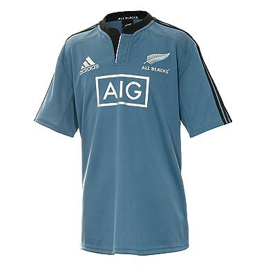 adidas New Zealand All Blacks 2014/15 S/S - Camiseta de Rugby/de ...