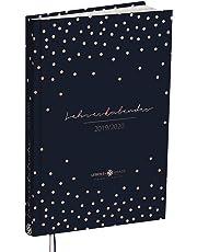 Lehrerkalender 2019 2020: A4 Hardcover Lehrerplaner mit 2 Lesebändchen | Kalender Planer für die Unterrichtsvorbereitung