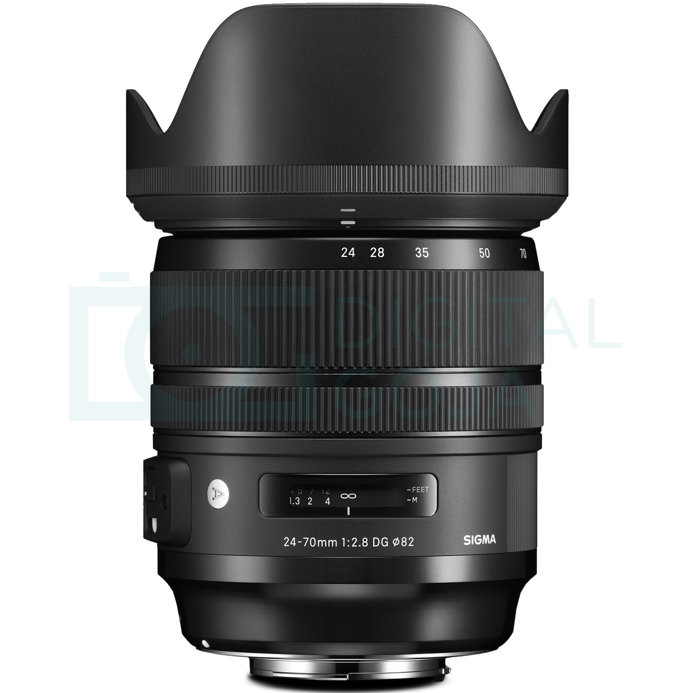 Sigma 24-70mm f//2.8 DG OS HSM Art Lens for Nikon F Sigma USB Dock with Altura Photo Advanced Accessory and Travel Bundle
