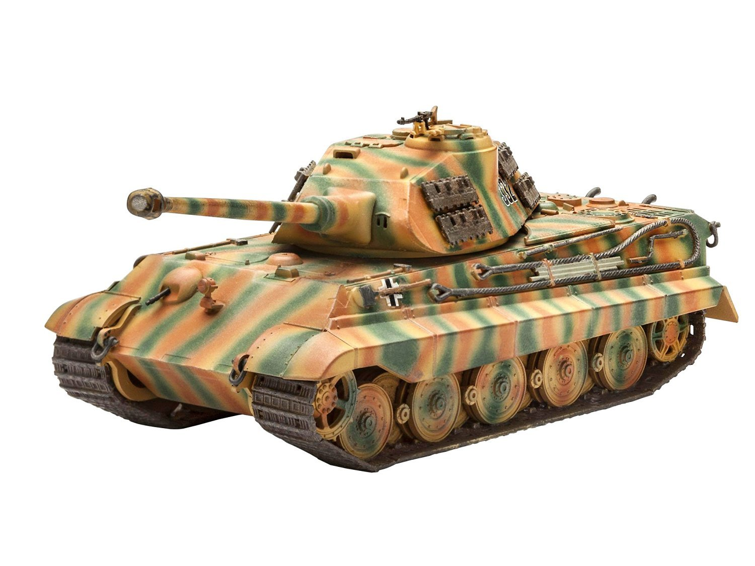 Revell Germany Tiger II Ausf. Kit B Porsche Prototype Turret Kit Ausf. 03deb4