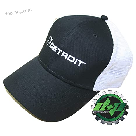 Amazon.com   Cummins S M Detroit Diesel Fitted Ball Cap semi Trucker ... 9c52b353ba5a