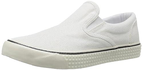 Diesel - Zapatillas de Tela para Mujer Blanco Weiß: Amazon.es: Zapatos y complementos