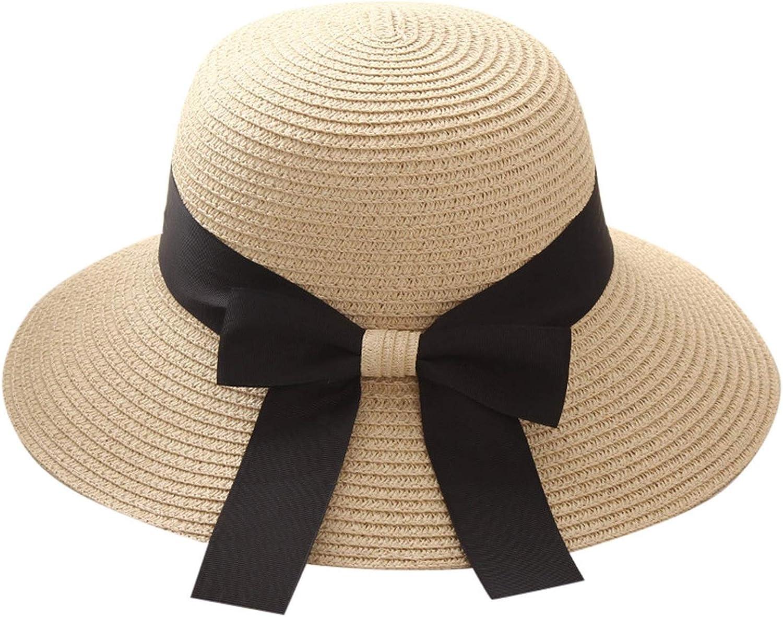 Hats Round Brimmed Summer Sun Hats Foldable Roll up Beach Caps Sun Hat