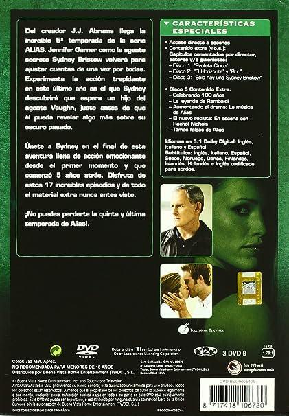 Alias - Temporada 5 [DVD]: Amazon.es: Jennifer Garner, Lena Olin, Merrin Dungey, Michael Vartan, Ron Rifkin, Victor Garber, Varios, J.J. Abrams: Cine y ...