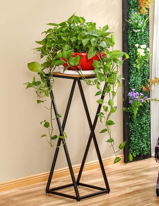 Alicemall 10pcs Macetas Colgantes Metal Bote Inoxidables de para Flores y Plantas Colgantes para Jard/ín Patio Tiesto Decoraci/ón Hogar