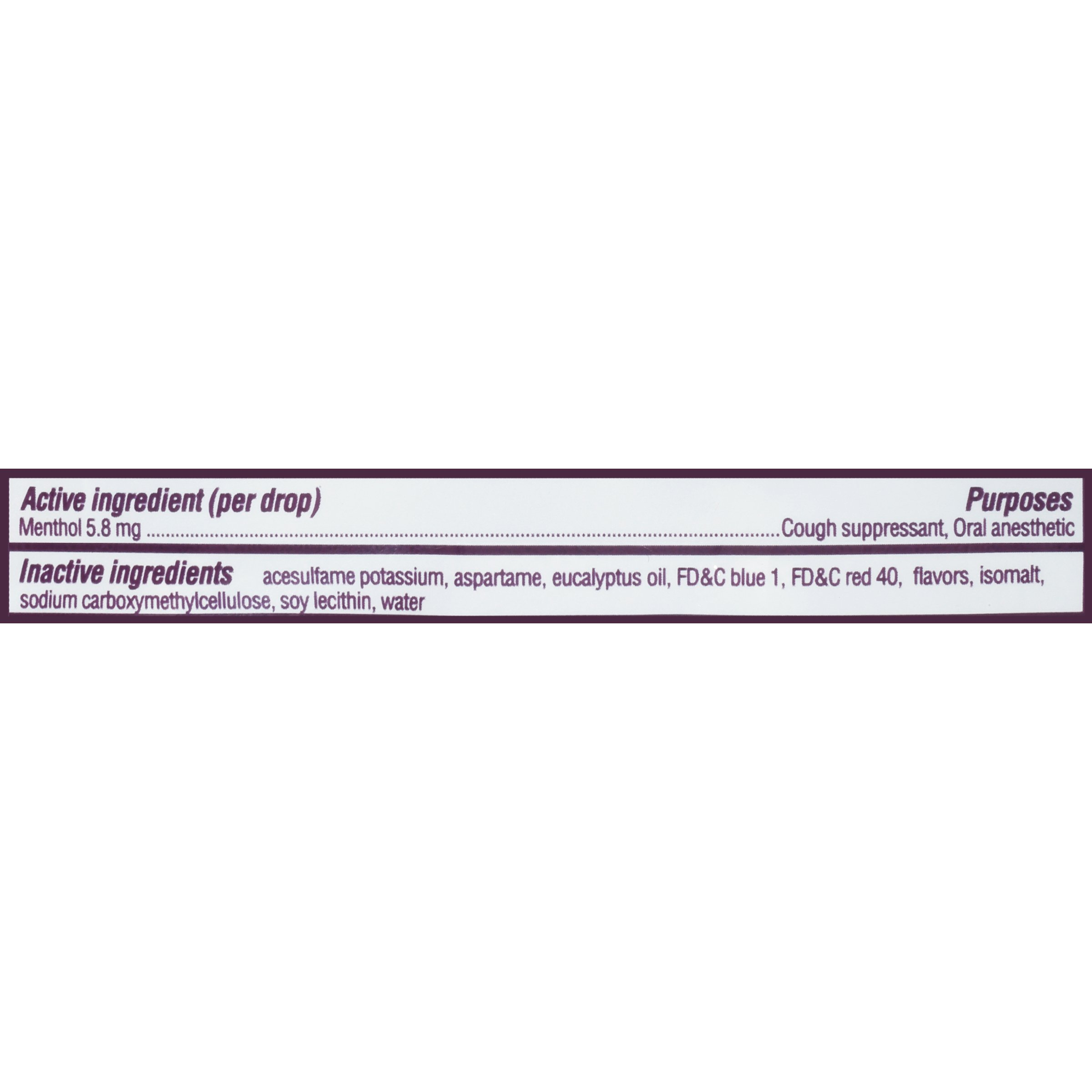 Halls Black Cherry Sugar Free Cough Drops - with Menthol - 840 Drops (12 bags of 70 drops) by Halls (Image #2)