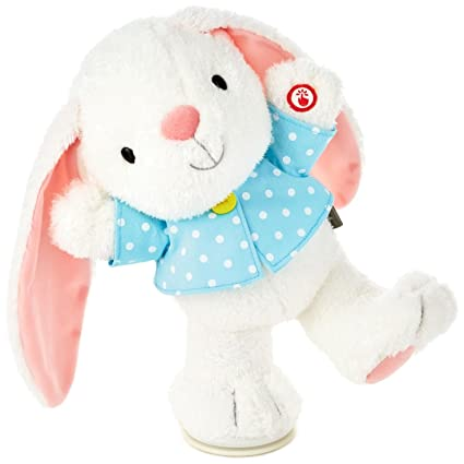 Amazon Com Hoppy Easter Bunny Musical Stuffed Animal With Motion