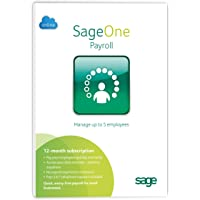 Sage One Payroll 5 Employees 12 months Subscription (PC/Mac)