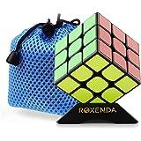 Roxanda Moyu Guoguan YueXiao Sticker 3x3x3 cubo magico cubo di velocità di puzzle (+ cubo bag)