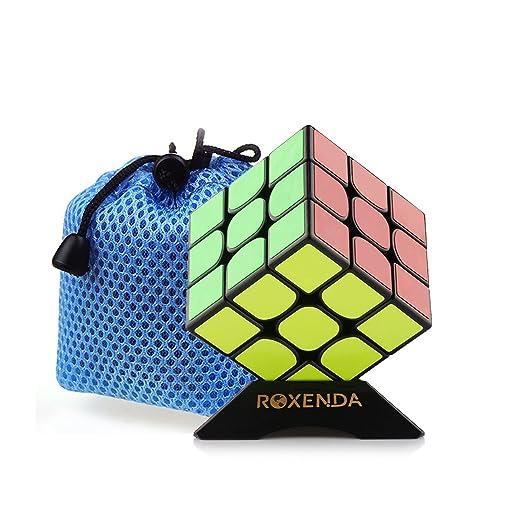 6 opinioni per Roxanda Moyu Guoguan YueXiao Sticker 3x3x3 cubo magico cubo di velocità di