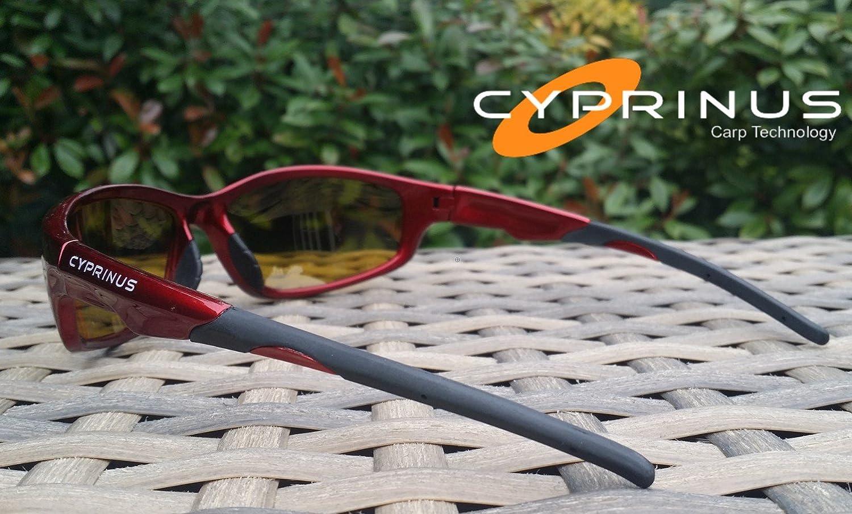 Cyprinus Polarizadas polarizado Polaroid Pesca Gafas de sol amarillo lente RRP £ 49.99: Amazon.es: Deportes y aire libre