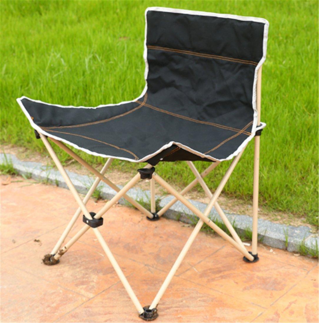 Yeying123 Klappstuhl Outdoor Portable Dicken Oxford Angeln Stuhl Stuhl Auto Grill Strand Liegestuhl