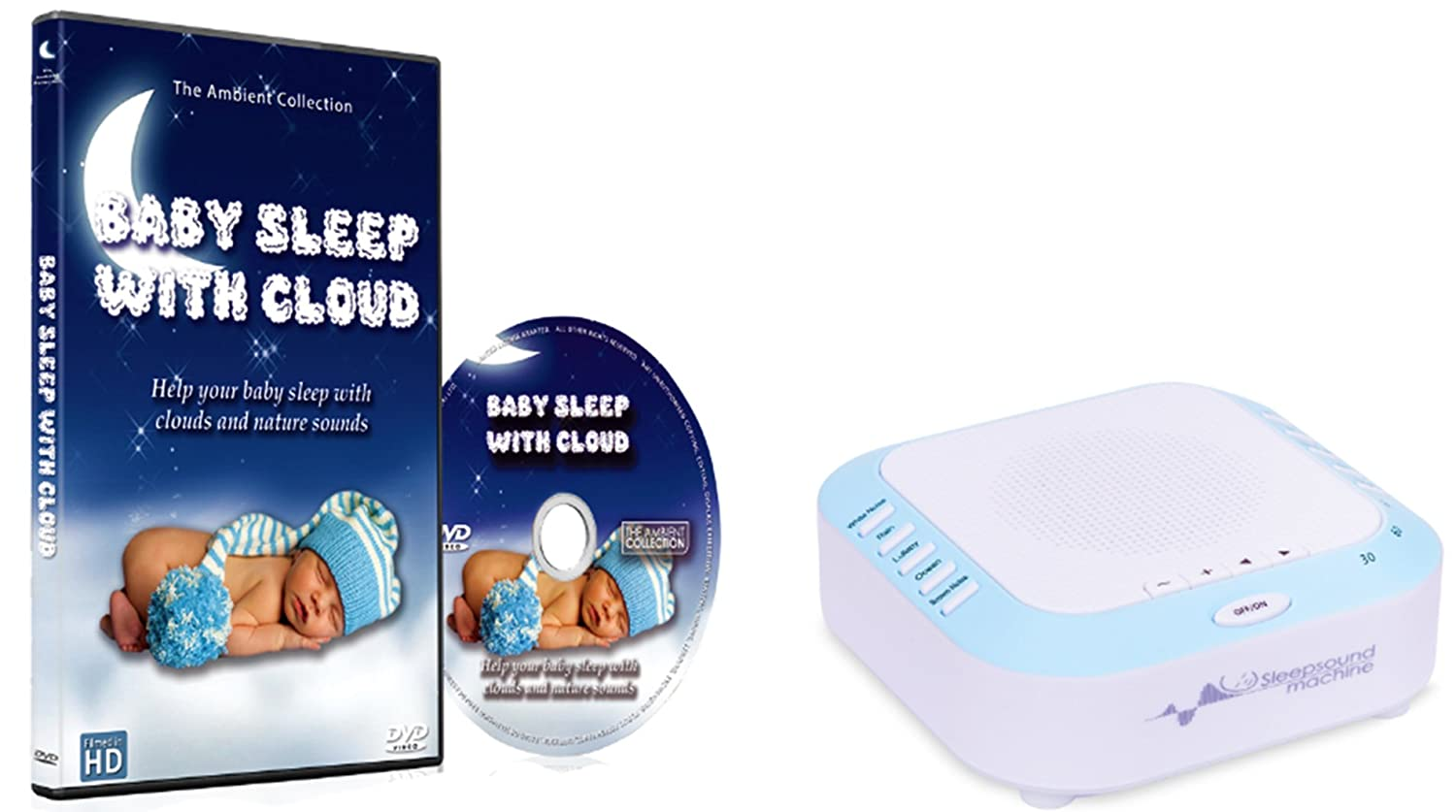 Amazon com : 2nd Generation Sleep Sound Machine with Relaxing Nature