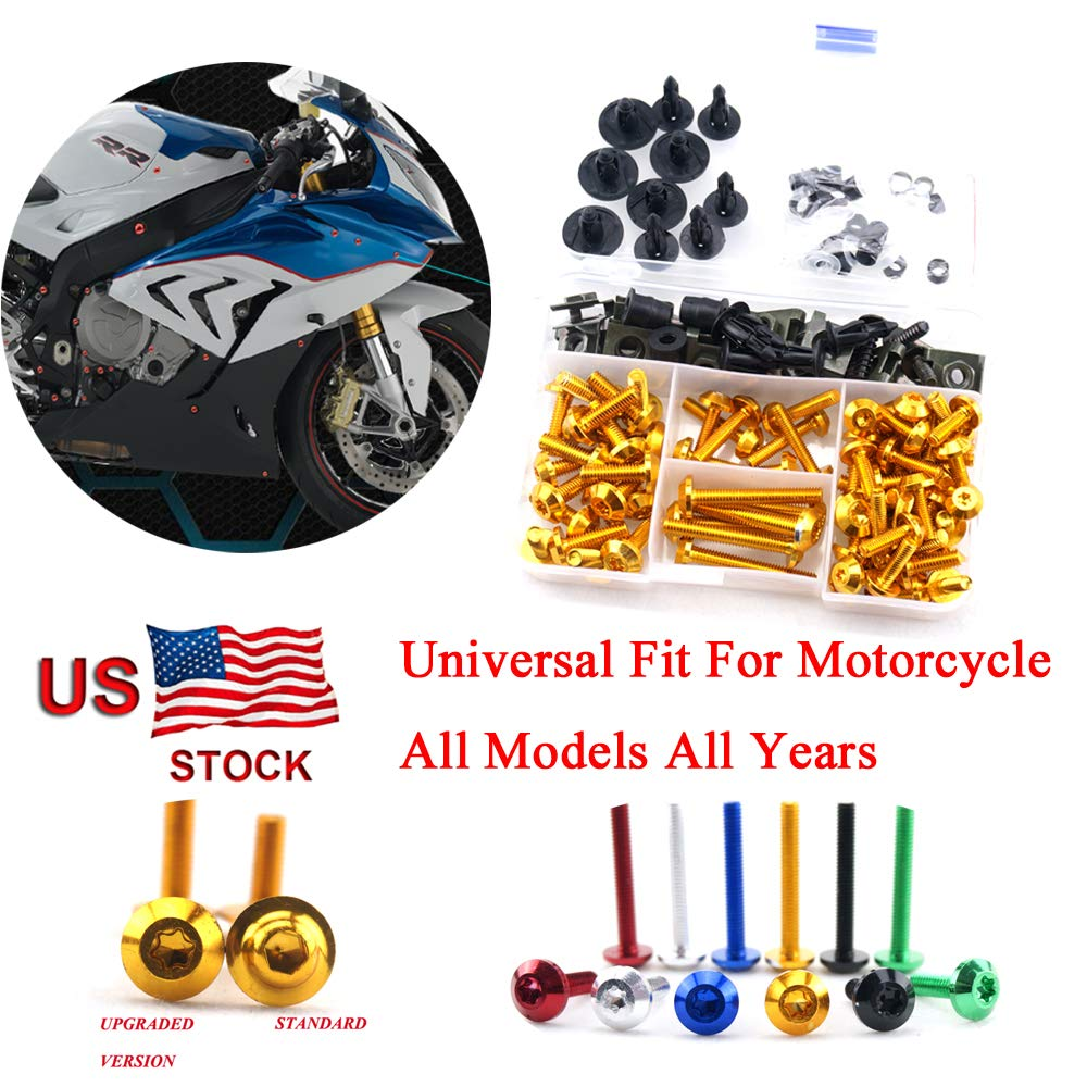 For Ducati 1199 Panigale 2011 2012 2013 2014 CNC Complete Fairing Bolt Kit Screws