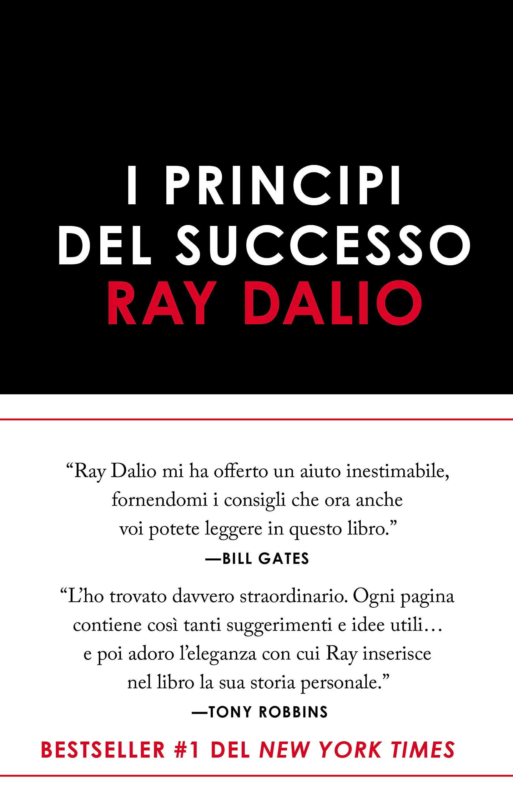 Copertina Libro I principi del successo