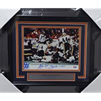 """$299 » Walter Payton Autographed Framed 8x10 Photo Chicago Bears""""Sweetness & 16,726"""" PSA/DNA"""