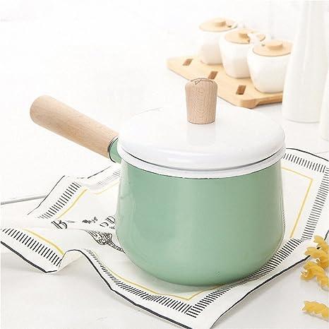 XiangYan Cacerola ollas cacerola olla calor resistente a alta ...
