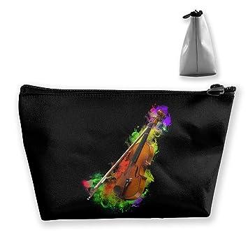 Estuches portátiles de maquillaje de neón para violín ...