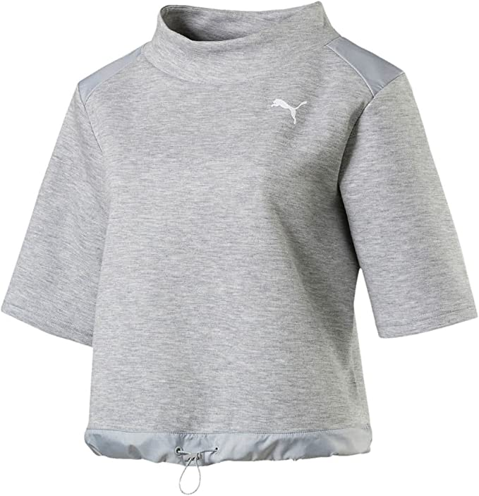 PUMA Damen Shirt Evostripe Sweat Tee: : Bekleidung