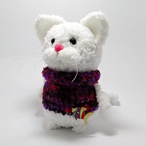 c8ceb5112056 Soft toy cat, Knitted toy, Teddy funny cat, Toys, Plush cat dolls,  Miniature toys, Cat figurine Domestic cat, Toy kitty, Stuffed animal, Cat  doll, Teddy cat ...