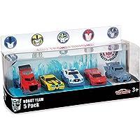 Majorette - 213113007 - Véhicules Miniatures - Transformers Gift Pack 5 Pièces