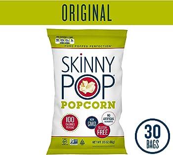 30-Pack SkinnyPop Original Popcorn 0.65 Ounce