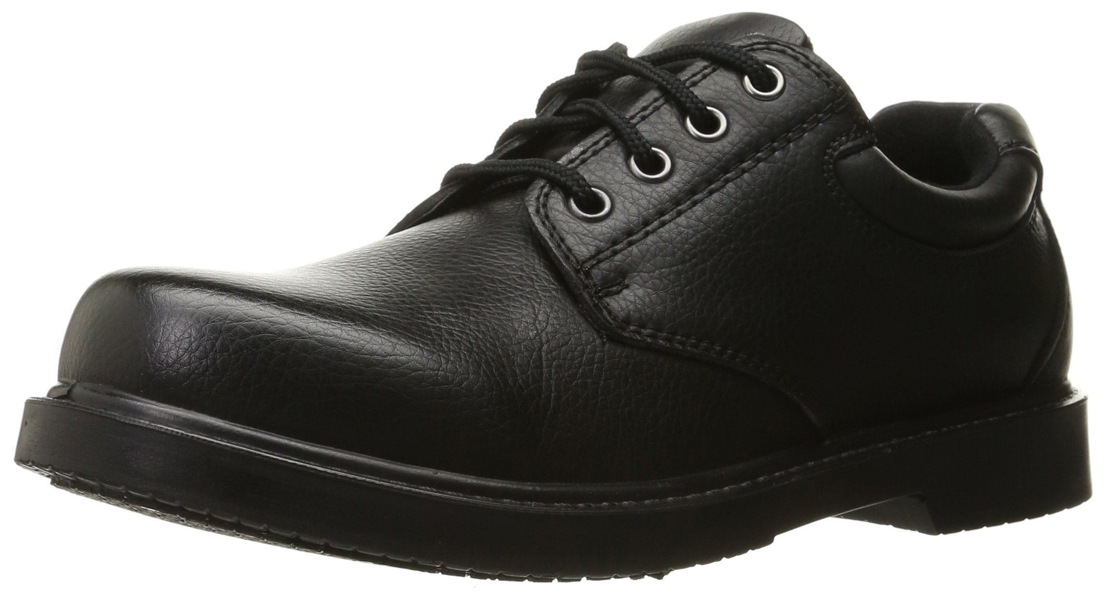 Dr. Scholl's Shoes Men's Dave Uniform Dress Shoe, Black, 12 W US