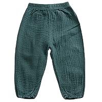 Cutelove Unisex Baby Girls Boys Casual Pants Elastic Harem Pants Summer Bloomers