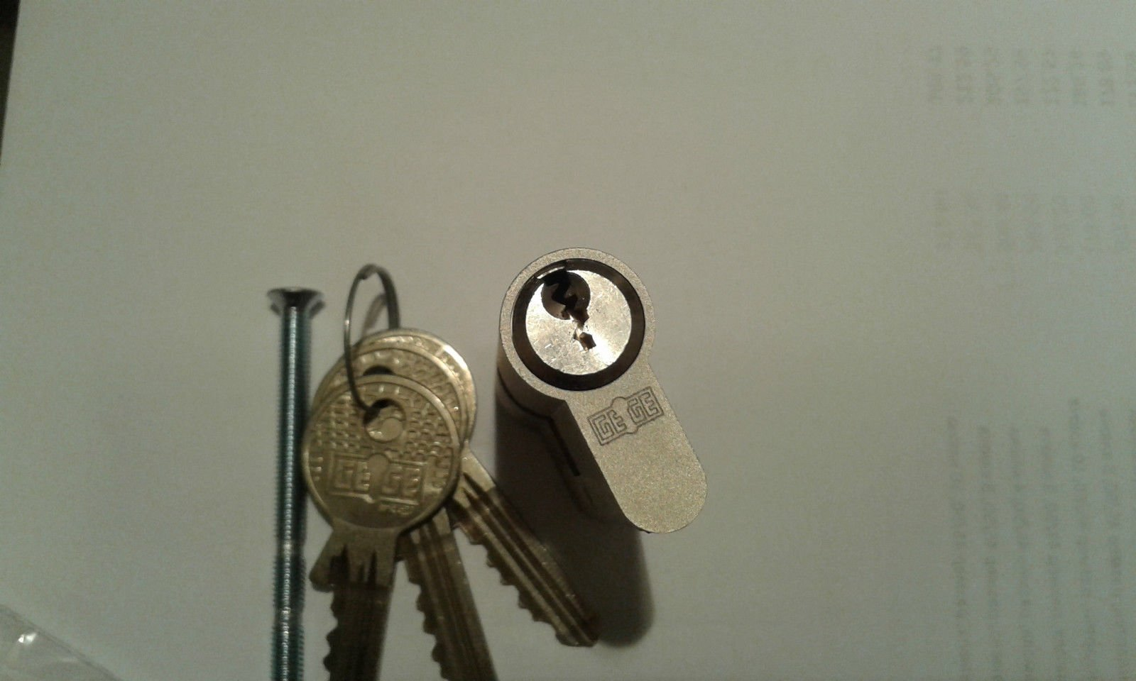 Gege eAP 2000 High Security Euro Cylinder Door Lock (30/40)