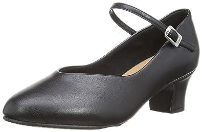 Bloch Broadway-Lo, Zapatos de Jazz para Mujer, Negro (Black), 38.5 EU