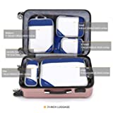 Compression Packing Cubes Mesh Organizers