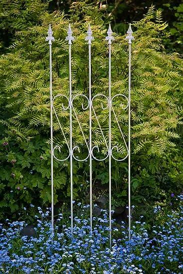 kuheiga Enrejado Metal 163 cm x 47 cm galvanizado celosía Valla ...