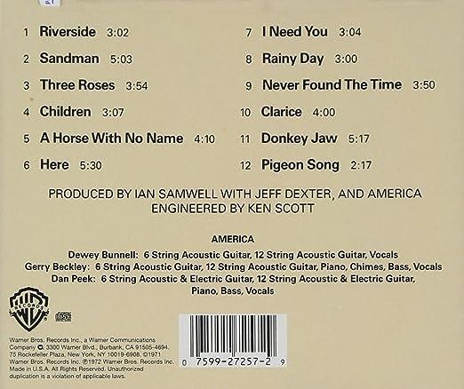 AMERICA - America - Amazon.com Music