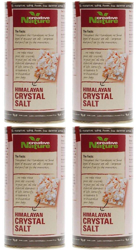 (4 PACK) - Creative Nature - Pink Himalayan Crystal Salt | 300g | 4 PACK BUNDLE