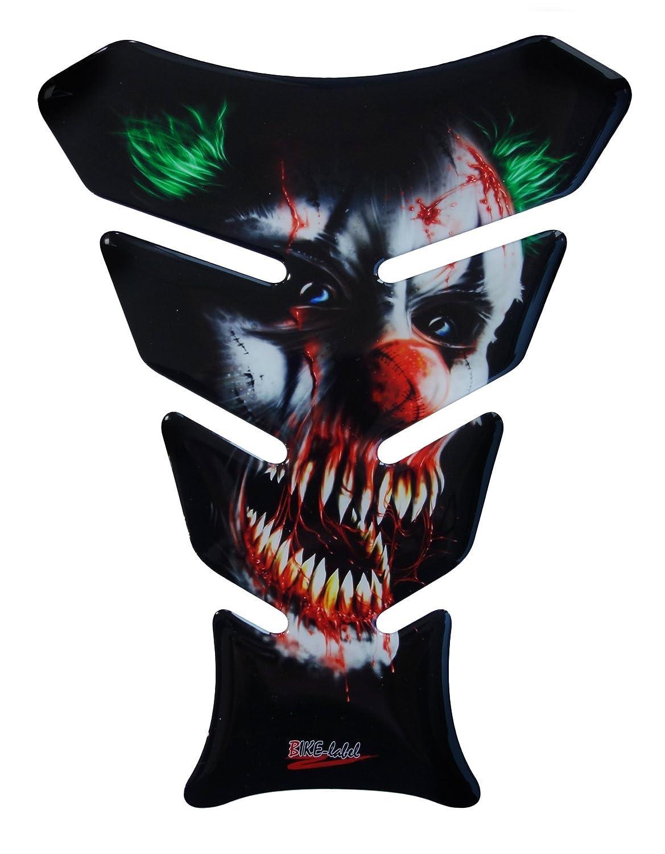 Protège-réservoir universel - Motif clown tueur - 3D 501678 - Pour réservoirs de moto