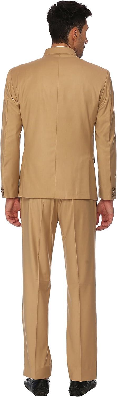 Mens Ethnic Contemporary Wedding Bandhgala Jodhpuri Suit Set-3 Colors Available