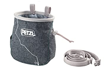 Petzl Espada Chalk Bag Magnesia Bolsa, Mottled Gray, One Size: Amazon.es: Deportes y aire libre
