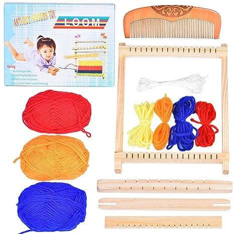 Sonstige Kreativsets für Kinder Allgäuer Webrahmen 6325504 Schul-Webrahmen 240