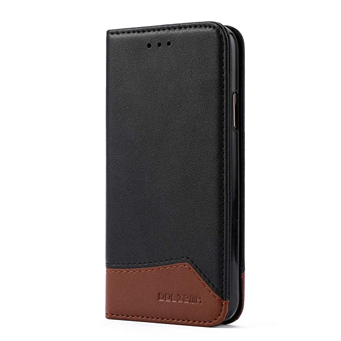 info for b3579 556cb DOLIZMA iPhone 8 Case,iPhone 7 Leather Case Magnetic Closure Flip Folio  Book Case Wallet Cover Kickstand Feature Card Slots & ID Holder