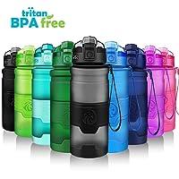 ZORRI Bottiglia d'Acqua Sportiva Senza BPA-Riutilizzabile Borraccia in plastica tritan 400ml/500ml/700ml/1000ml,Ideale Bottiglie per Bambini,Scuola,Bici,Fitness,a Prova di perdite borracce con Filtro