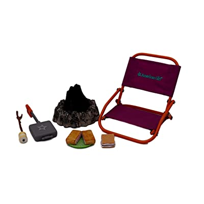 American Girl Adventure Campfire Set for dolls: Toys & Games