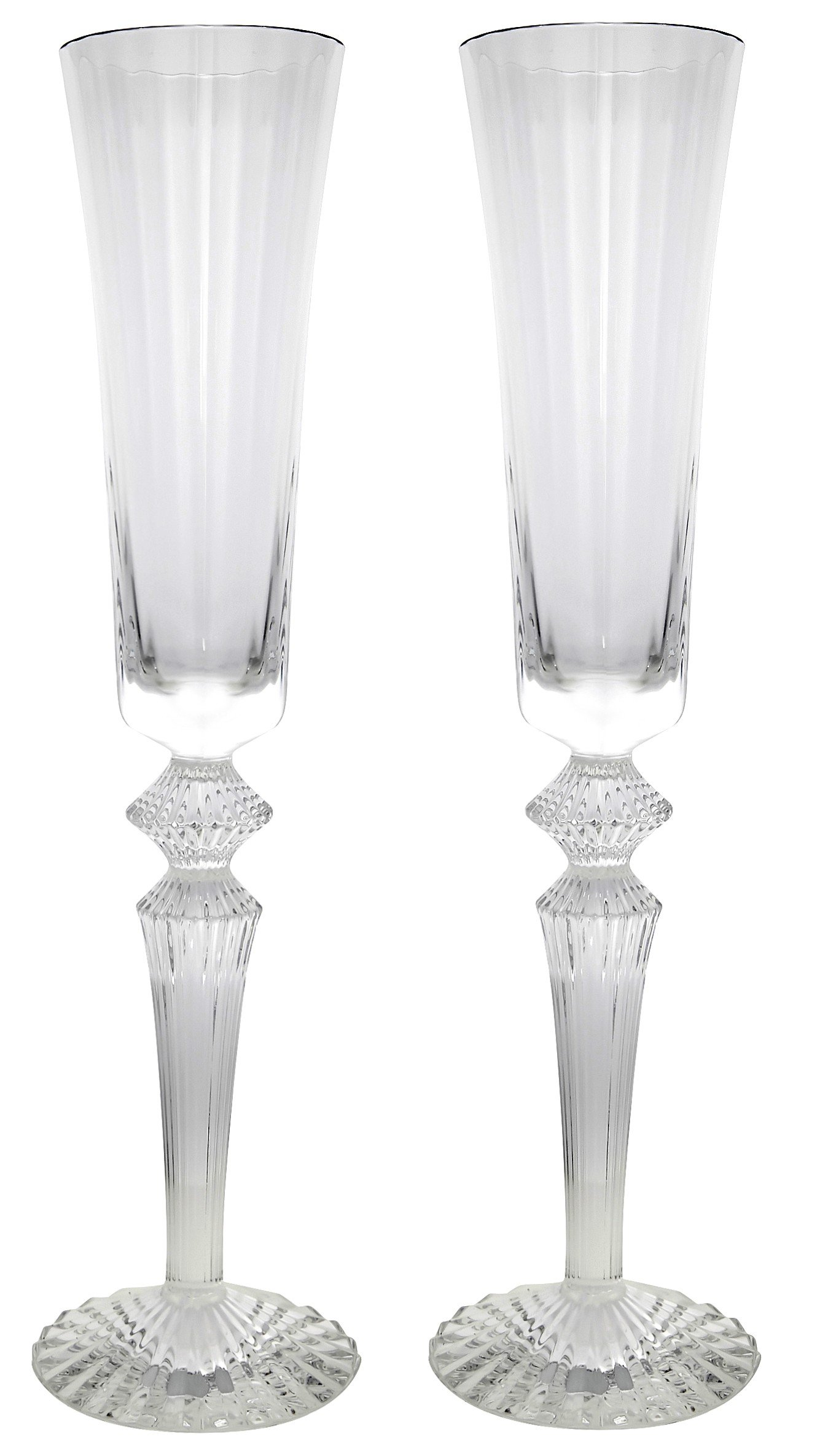 Baccarat Mille Nuits Champagne Flutes Set of 2 2810597