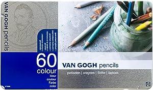 60 color pencil set van Gogh (Metal Cased) (japan import)