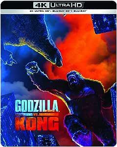Godzilla vs Kong 4k Ultra HD [Blu-Ray]