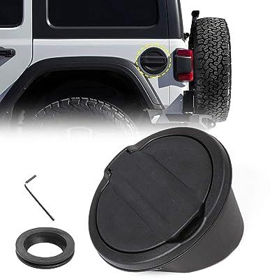 RT-TCZ Fuel Filler Door Cover Gas Cap Exterior Accessories For Jeep Wrangler JL Unlimited: Automotive