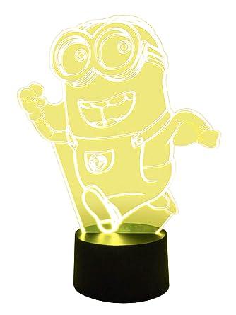 Lampe Minion OriginaleLuminaires Et Led 3d Eclairage Ygyf67b