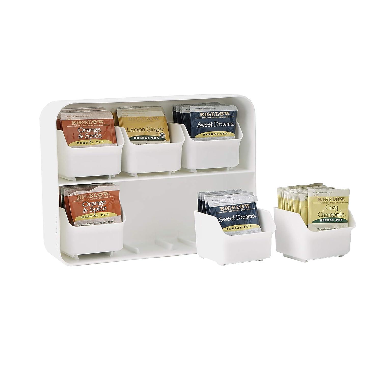 Mind Reader 90 Tea Bags Estante Organizador para Bolsas de teacute