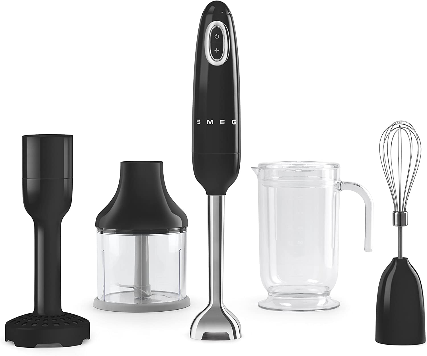Smeg HBF02BLUS Hand Blender, One Size, Black